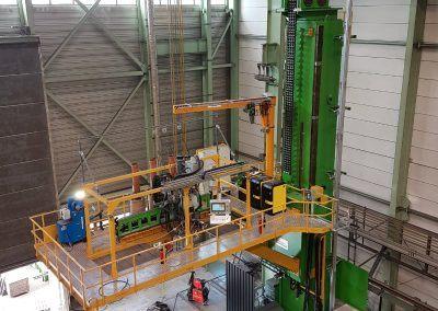 3-Draht Außen-UP-Rundnahtschweißanlage für Rohrdurchmesser 5500-12000mm 1