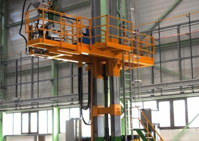 3-Draht Außen-UP-Rundnahtschweißanlage für Rohrdurchmesser bis 8000mm 1