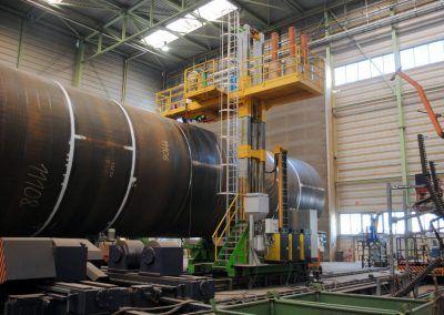 3-Draht Außen-UP-Rundnahtschweißanlage für Rohrdurchmesser bis 8000mm 2