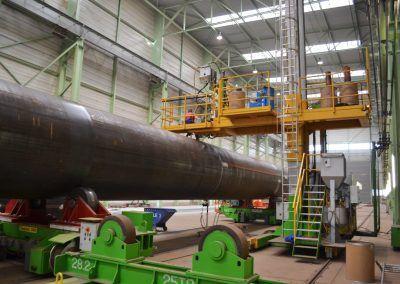 3-Draht Außen-UP-Rundnahtschweißanlage für Rohrdurchmesser bis 8000mm 3