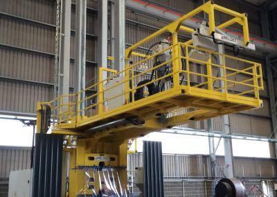 3-Draht Außen-UP-Rundnahtschweißanlage für Rohrdurchmesser bis 8500mm