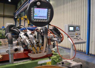 3-Draht Innen-UP-Rundnahtschweißanlage mit Mobile Panel ab Rohrdurchmesser 550mm 1
