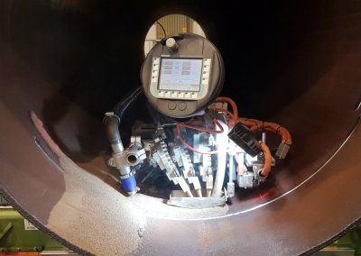 3-Draht Innen-UP-Rundnahtschweißanlage mit Mobile Panel ab Rohrdurchmesser 550mm 2
