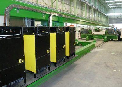 4-Draht Innen-UP-Rundnahtschweißanlage für Offshore-Wind Fundamente 1