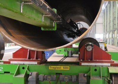 4-Draht Innen-UP-Rundnahtschweißanlage für Offshore-Wind Fundamente 2
