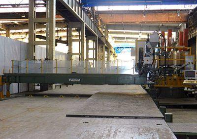 4-Draht UP-Plattenschweißanlage 180° drehbar mit Blechauflagetischen für Schweißlänge 10000 mm 2