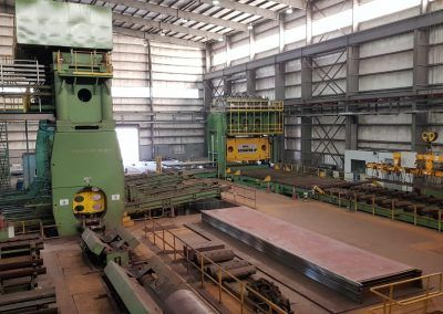 Pre-Bending Press SABP 3500 in LSAW pipe production line