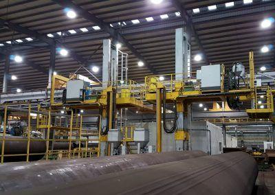 Außen-UP-Längsnahtschweißanlagen für Rohrdurchmesser 5000mm