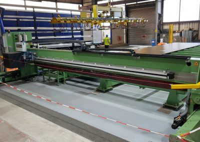 Steel Plate Measuring Machine with plate support table 1