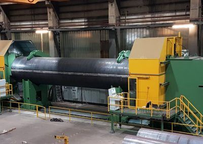 Double-sided Pipe End Milling Machine up to outside pipe diameter 3000mm