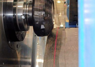 Pipe end milling sequence