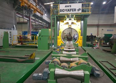 Pipe Calibration Press with 30000kN pressing force 96 inch die