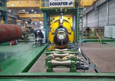 Pipe Calibration Press with 30000kN pressing force for outside pipe diameter 16-96 inch 1